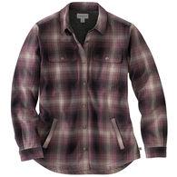 Carhartt Women's Hubbard Sherpa-Lined Shirt Jac