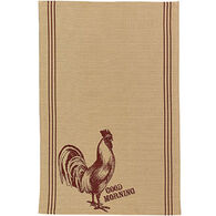 Park Designs Rooster Printed Towel