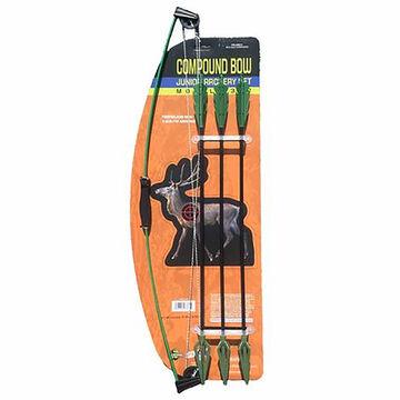 Parris Manufacturing Childrens 27 Camo Compound Bow & Arrow Set