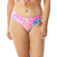 Beach House - Gabar - Swimwear Anywhere Women's Maddy Sea Soiree Side Shirred Bikini Bottom Swimsuit