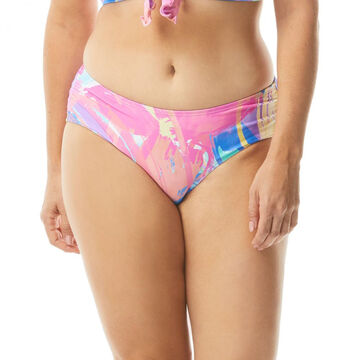 Beach House - Gabar - Swimwear Anywhere Womens Maddy Sea Soiree Side Shirred Bikini Bottom Swimsuit