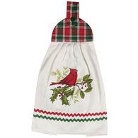 Kay Dee Designs Cardinal Plaid Tie Towel