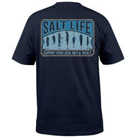 Salt Life Men's Bait and Tackle Shop Pocket Short-Sleeve T-Shirt