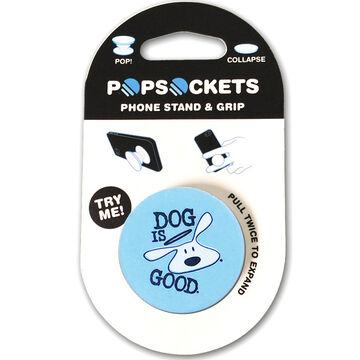 PopSockets Dog Is Good Logo Mobile Device Expanding Stand & Grip