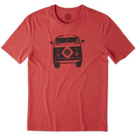 Life is Good Men's Retro Van Smooth Short-Sleeve Sleep T-Shirt