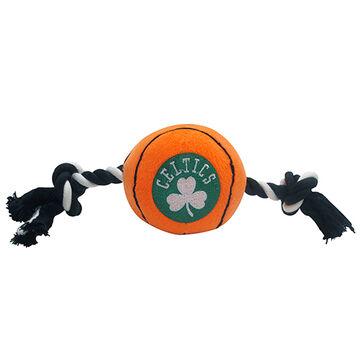 Pets First Boston Celtics Plush Basketball Dog Toy