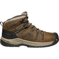 Keen Men's Flint II Steel Toe Waterproof Work Boot