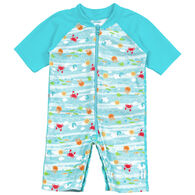 I Play Infant/Toddler Sea Pals Sunsuit