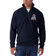 47 Brand Men's New England Patriots '47 Striker 1/4-Zip Sweatshirt