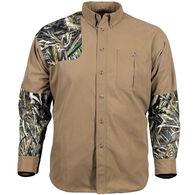 Gamehide Men's Camo Tipped Long-Sleeve Shooting Shirt