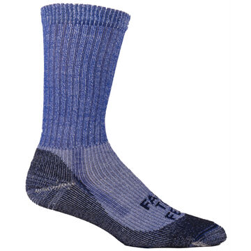 Farm to Feet Mens Boulder No Fly Zone Lightweight Crew Sock