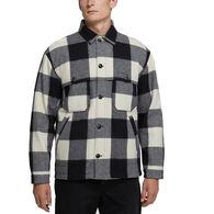 Woolrich Men's Buffalo Stag Long-Sleeve Over Shirt