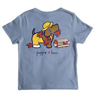 Puppie Love Boy's Lobster Pup Short-Sleeve T-Shirt
