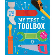 My First Toolbox: Press Out & Play Board Book by Jessie Ford