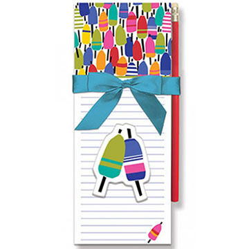 Cape Shore Colorful Buoys Magnetic Pad Gift Set