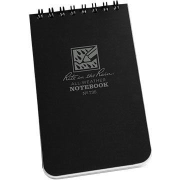 """Rite In The Rain Top Spiral Notebook - 3"""" x 5"""""""