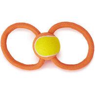 Grriggles Ruff Rope Figure Eight Dog Toy