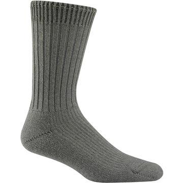 Wigwam Mens Uniform Crew Sock, 2/pk