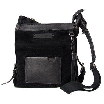Sherpani Luna Suede Crossbody Bag
