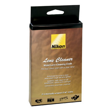 Nikon Lens Cleaner Moist Cleaning Cloths