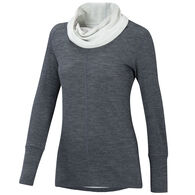 Ibex Women's Dyad Cowl-Neck Sweater