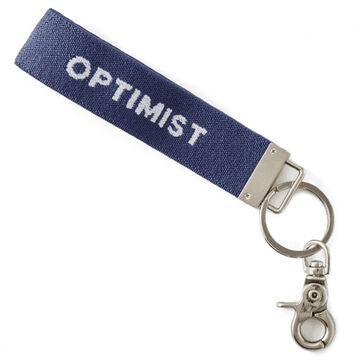 Life is Good Optimist Ride On Keychain