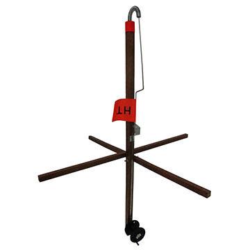 HT Enterprises Maine Wood Trap Tip-Up w/ 500' Spool & Drag System