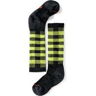 SmartWool Boys' & Girls' Wintersport Buff Check Sock