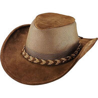 Henschel Hat Men's Explorer Crushable Suede Cowhide Hat