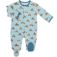 Magnetic Me Infant Easy Rider Modal Magnetic Footie Pajama