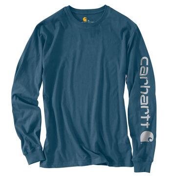 Carhartt Mens Graphic Logo Long-Sleeve T-Shirt
