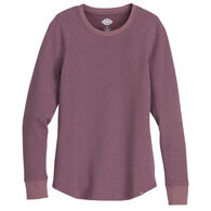 Dickies Women's Thermal Crew Neck Long-Sleeve Shirt