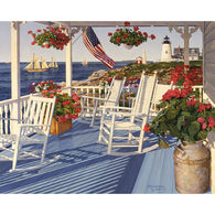White Mountain Jigsaw Puzzle - Lighthouse Pointe