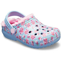 Crocs Girls' Classic Lined Graphic Clog