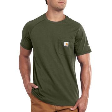Carhartt Mens Big & Tall Force Cotton Short-Sleeve T-Shirt