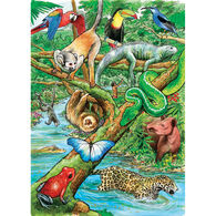 Outset Media Tray Puzzle - Life in a Tropical Rainforest