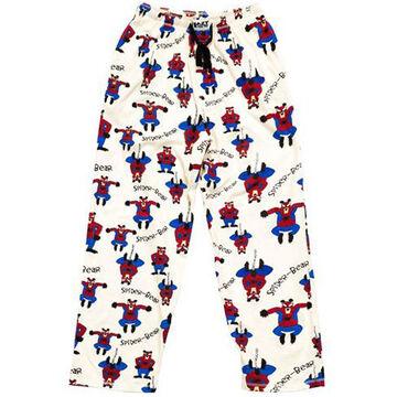 Lazy One Men's Spider-Bear PJ Pant