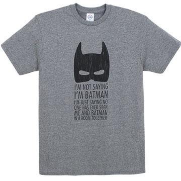 Pacific Art Men's Batman Short-Sleeve T-Shirt