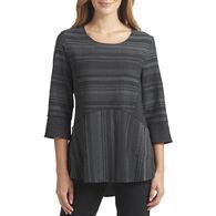 Habitat Women's Pouch Pocket Striped Long-Sleeve Tunic