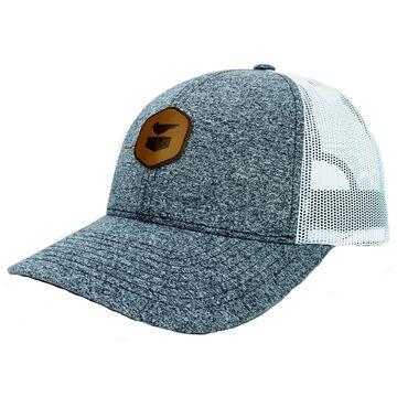 Jetty Life Mens Carbon Snapback Trucker Hat