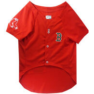 Pets First Boston Red Sox Baseball Dog Jersey