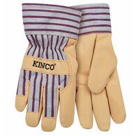 Kinco Boy's & Girl's Lined Ultra-Suede Glove w/Knit Wrist