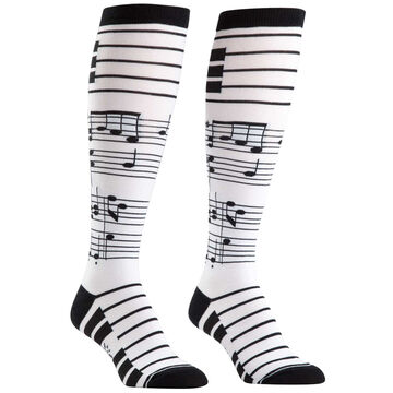 Sock It To Me Womens Foot Notes Sock