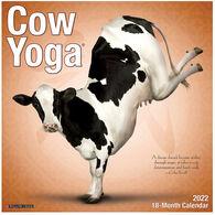 Willow Creek Press Cow Yoga 2022 Wall Calendar