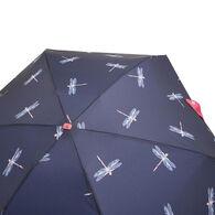 Joules Women's Fulton Tiny Dragonflies Umbrella
