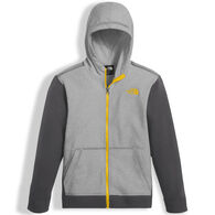 The North Face Boy's Tech Glacier Full Zip Hoodie