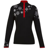 Krimson Klover Women's Snow Cap Quarter-Zip Long-Sleeve Pullover