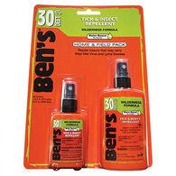 Ben's 30 DEET Tick & Insect Repellent Home & Field Pack - 3.4 oz. & 1.25 oz.