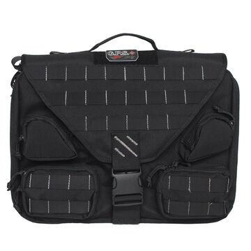 G-Outdoors Tactical Briefcase w/ Fold Over Design & Handgun Holster
