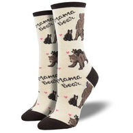 Socksmith Design Women's Mama Bear Crew Sock